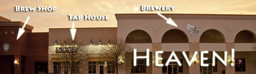 The only brew shop in the state with an attached operating brewery and tap house with over 40 Wisconsin beers on tap!